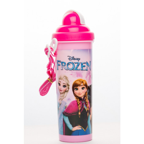 Frozen Elsa and Anna 700 ml Rock N Sip Water Bottle