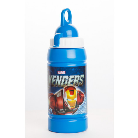 Avengers 500ml water bottle with loop