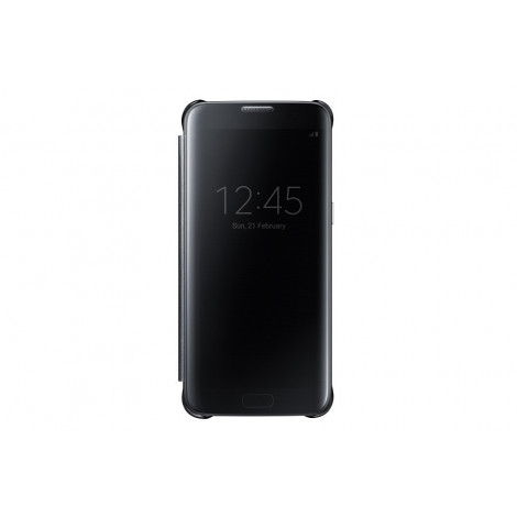 Samsung galaxy S7 edge I.C clear case (Black)