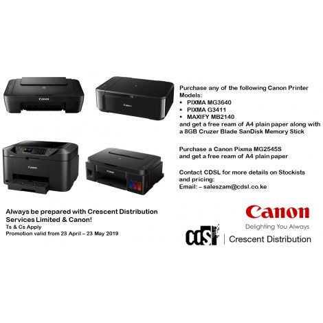 Canon PIXMA MG2540S 3-in-1(Print,Copy,Scan)