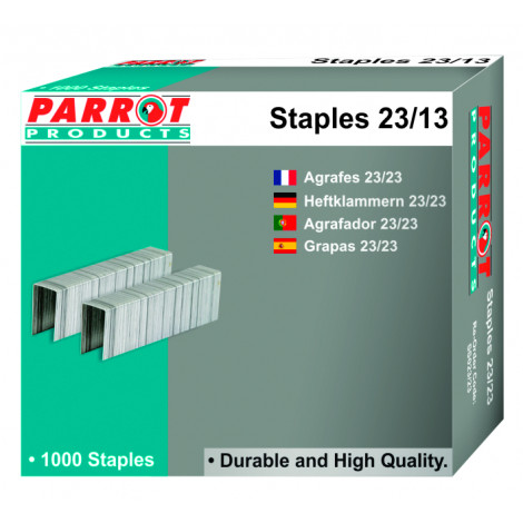 Staples 23/13 Box of 1000 100 Pages