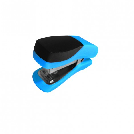 Single Mini Blue Plastic Stapler ST3051D