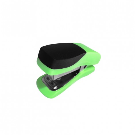 Single Mini Green Plastic Stapler ST3051G