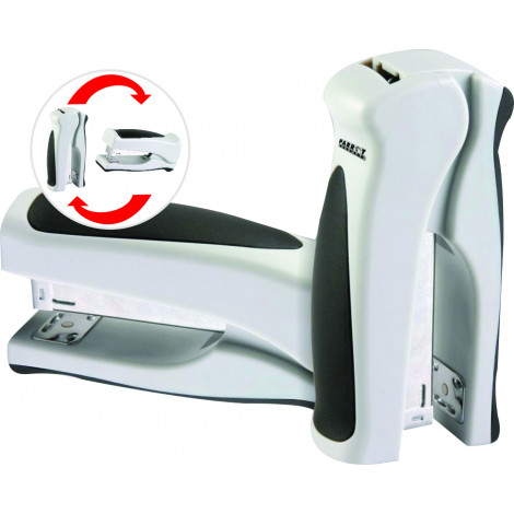 Desktop Vertical Stapler 105*(24/6 26/6) 20 Pages (Grey)