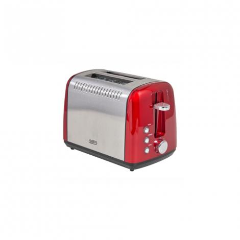 DEFY Metallic Red 2 Slice Toaster TA 828 R