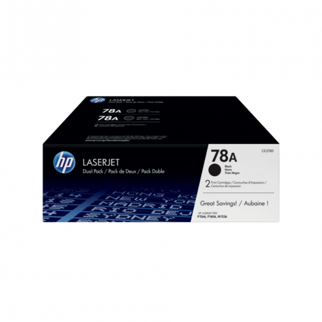 HP 78A BLACK TONER CARTRIDGE FOR LASERJET M1536 SERIES MFP