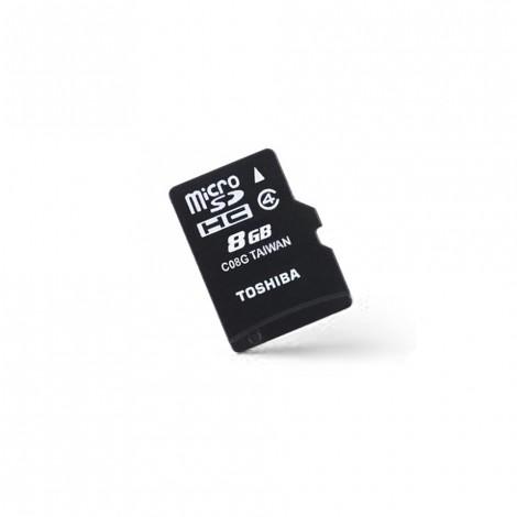 Toshiba HIGH SPEED M102 8GB memory card MicroSD Class 4 W/O Adapter THN-M102K0080M4