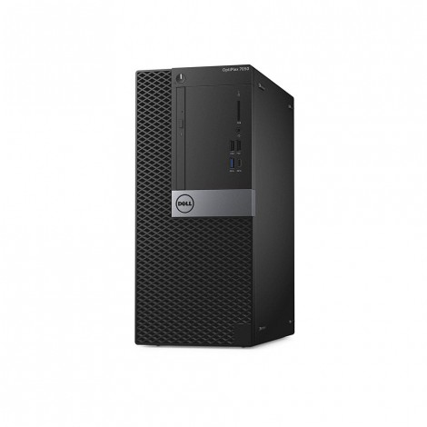Dell Optiplex 7050 MT Desktop, Core i7-7700 4GB RAM 1TB HDD DOS Without Monitor