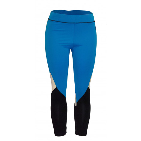 Women's Trichrome Tights(Blue)