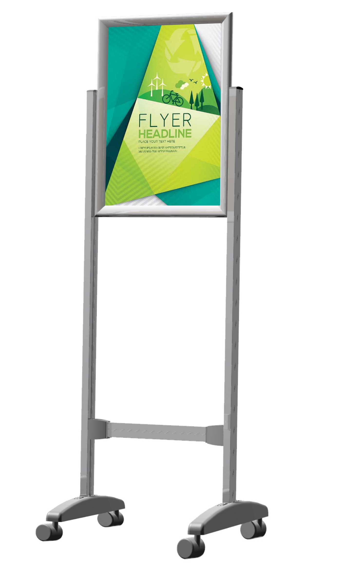 Buy Parrot Poster Frame Stands - Double Sided A0 Online | Tigmoo