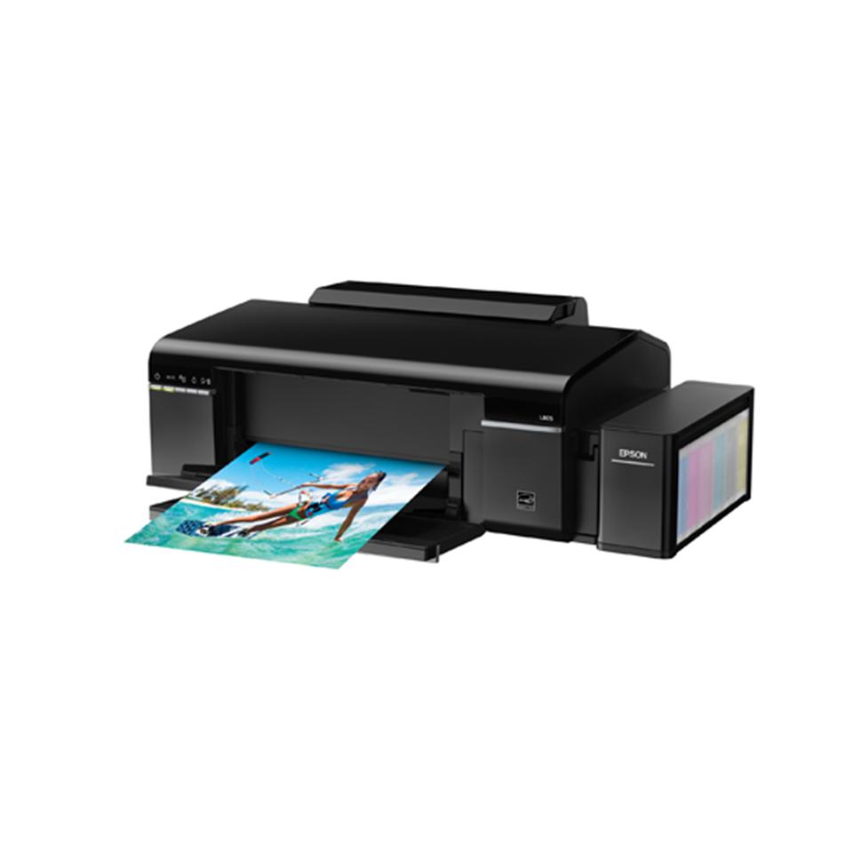 Epson L805 Photo Inkjet Printer : 33PPM Mono and 15PPM Colour (WiFi ,iprint)