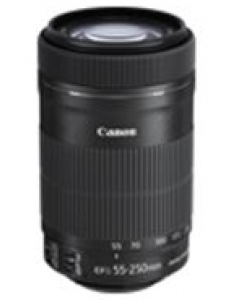 Canon - EF-S Telephoto Zoom Lens - 55 mm - 250 mm