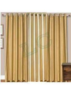 Plain Readymade Eyelet Curtains lc011