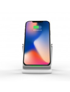 Qi Fast Wireless Charger Phone Stand For iPhone and All Mobile Phones
