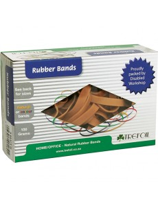 RUBBER BANDS 100G