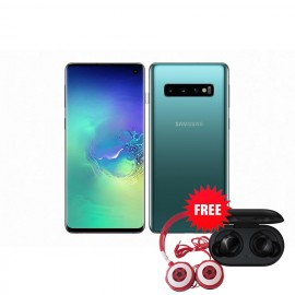 Samsung Galaxy S10 128 GB (Prism Green) with Free Samsung Buds and Soccer Headphone Worth ZMW 1650