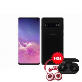 Samsung Galaxy S10 128 GB (Prism Black) with Free Samsung Buds and Soccer Headphone Worth ZMW 1650