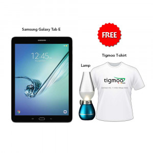 Samsung Galaxy Tab E T561 (9.6) 8 GB (Black) With Free Lamp & Tigmoo Tshirt