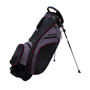 Bagboy Carry Lite Stand Bag Black/Charcoal/Red