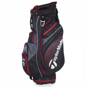 TaylorMade AG Cart Bag (Black / Red)