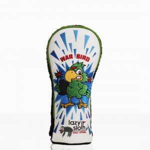 Lazy Sloth War Bird Fairway Wood Cover