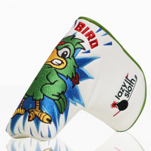 Lazy Sloth War Bird Putter Cover