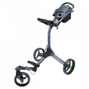 Bag Boy Triswivel 3 Wheeler Cart (Grey/Lime)