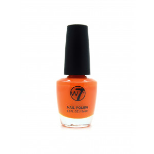 W7 Nail Polish (Orange Crème)