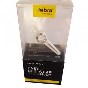 Jabra Walk Bluetooth Headset (White)