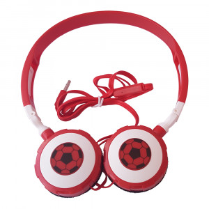 Soccer headphones TTS (Red)