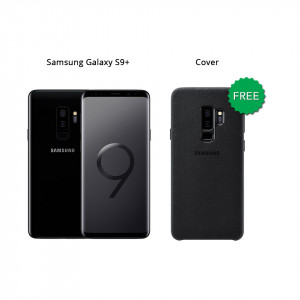 Samsung Galaxy S9 Plus 64 GB (Midnight Black) With Alcantara Cover