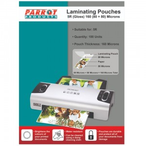 Laminating Pouch 5R 135*187 160(80+80) Mic Box 100
