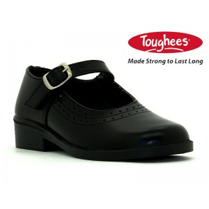 BATA TOUGHEES SCHOOL GIRLS PEARL BLACK