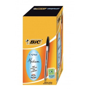 BIC CRYSTAL PENS(Packet of 60)
