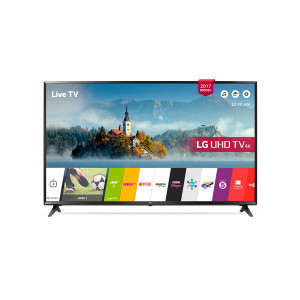 "LG 49UJ630V 49"" UHD Smart Satellite TV"
