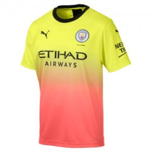 Replica Manchester City Jersey (Yellow)
