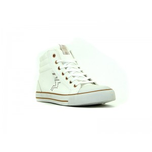 Bata Ladies Canvas Las Vegas white