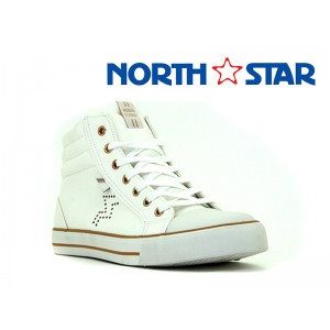 BATA LADIES NORTH STAR CANVAS LAS VEGAS WHITE