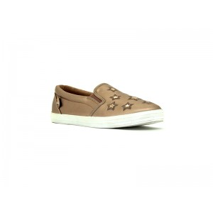 Bata Ladies Canvas Royal brown
