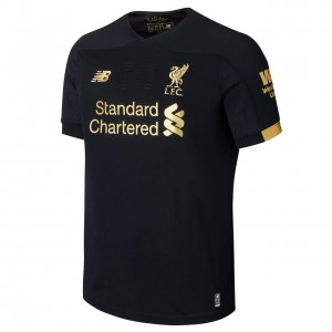 Replica Liverpool Jersey (Black And Golden)
