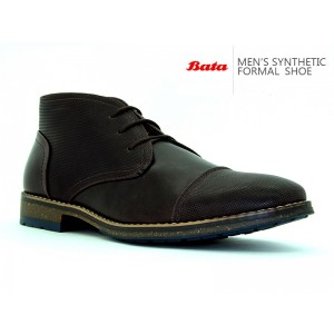 BATA MENS CASUAL MAX DARK BROWN
