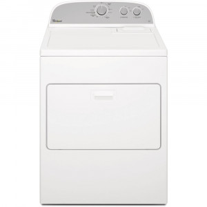 Whirlpool 10.5 kg 3LWED4830FW Heavy duty washer and dryer - White