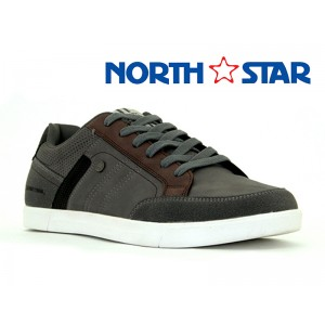 BATA MENS CANVAS MATT NAVY