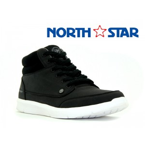 BATA MENS CANVAS ROCK BLACK