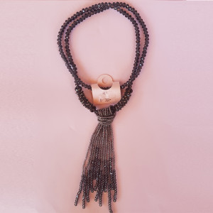 Necklace AEY 380 (black)