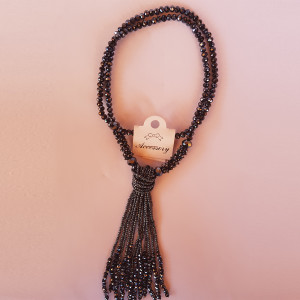 Necklace AEY 380 (Grey)