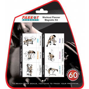 Parrot Workout Planner Magnet Kit (Suspended)