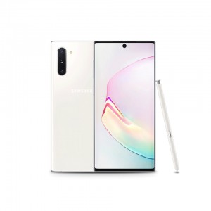 Samsung Galaxy Note 10 (Aura White, 8GB RAM, 256GB Storage)