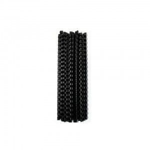 BINDER COMB ELEMENT PLASTIC 30 SHT 6MM BLACK (25)