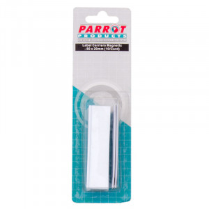 Parrot Label Carriers Mag 20*80mm (10 Pack)